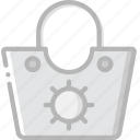 bag, beach, journey, travel, voyage icon