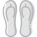 flip, flops, journey, travel, voyage icon