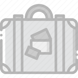 journey, luggage, travel, voyage icon