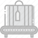 airport, check, journey, out, travel, voyage icon