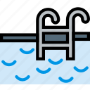 journey, pool, travel, voyage icon
