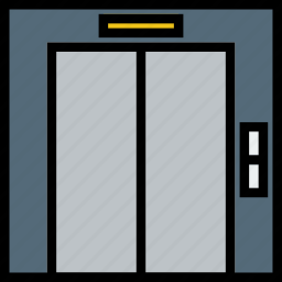 elevator, journey, travel, voyage icon