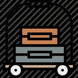 bellhop, journey, travel, voyage icon