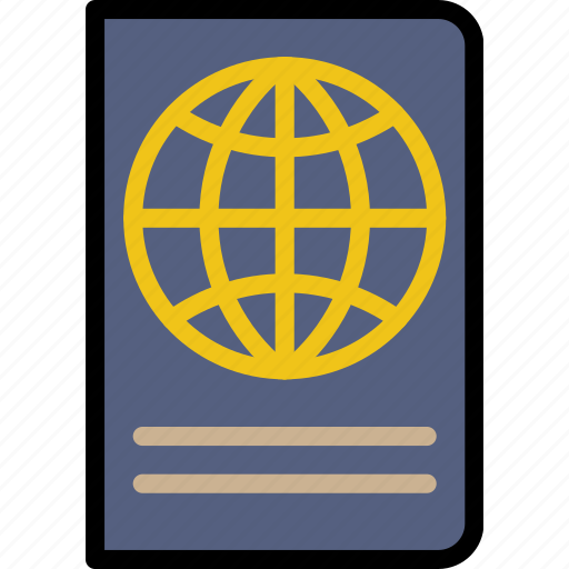 journey, passport, travel, voyage icon