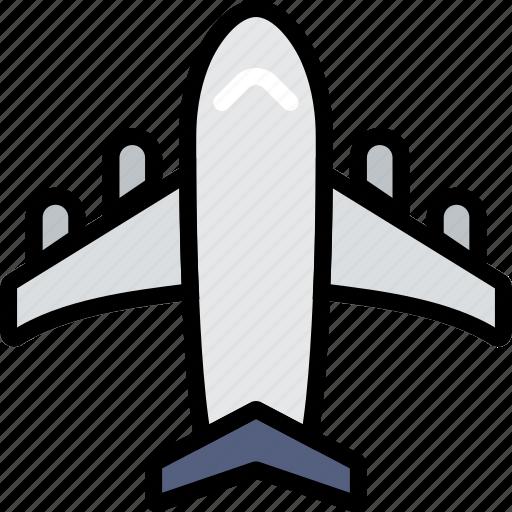 journey, plane, travel, voyage icon