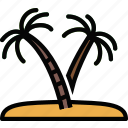 exotic, island, journey, travel, voyage icon