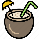 cocktail, journey, travel, voyage icon