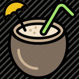 cocktail, journey, travel, voyage icon