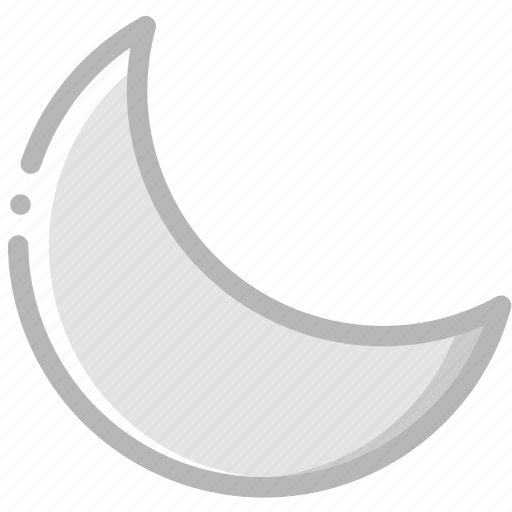 climate, forecast, moon, precipitation, weather icon