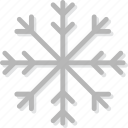 climate, forecast, precipitation, snowflake, weather icon