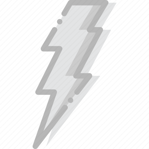 climate, forecast, lightning, precipitation, weather icon