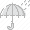 climate, forecast, precipitation, rainy, time, weather icon