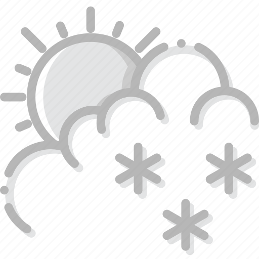 climate, drizzle, forecast, precipitation, weather icon