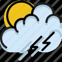 climate, forecast, morning, precipitation, storm, weather