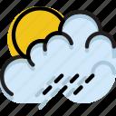 climate, forecast, morning, precipitation, rain, weather