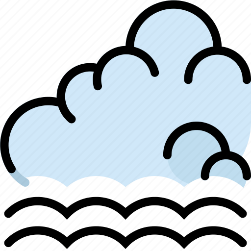 climate, forecast, incoming, precipitation, tide, weather icon