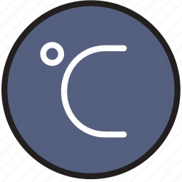 celsius, climate, forecast, precipitation, weather icon