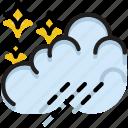 climate, forecast, night, precipitation, rain, weather