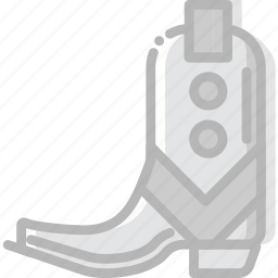 army, boots, desert, gun, union, west, wild icon