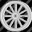 chariot, cowboy, desert, gun, west, wheel, wild icon