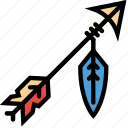 arrow, cowboy, desert, gun, west, wild icon