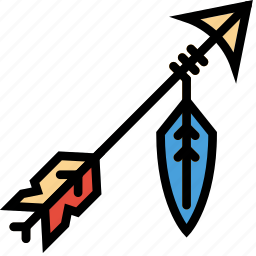 arrow, cowboy, desert, gun, west, wild icon