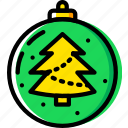 christmas, globe, holiday, winter icon