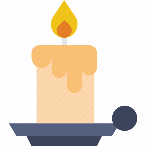 candle, christmas, holiday, winter icon