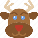 christmas, holiday, reindeer, winter
