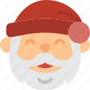 christmas, holiday, santa, winter icon