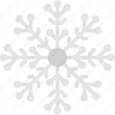 christmas, holiday, snowflake, winter icon