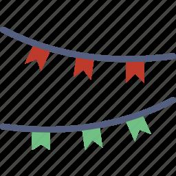 christmas, holiday, lighta, winter icon