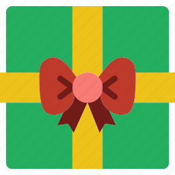 christmas, gift, holiday, winter icon
