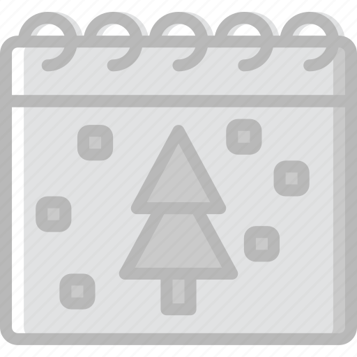 calendar, christmas, holiday, winter icon