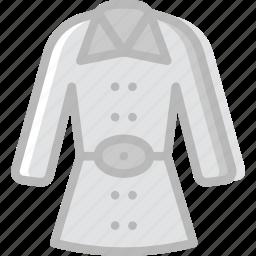 christmas, coat, holiday, winter icon