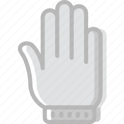 christmas, gloves, holiday, winter icon