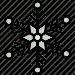 christmas, holiday, snowflake, winter icon