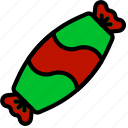 candy, christmas, holiday, winter icon