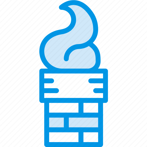 chimney, christmas, holiday, winter icon