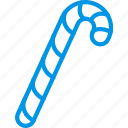 candy, cane, christmas, holiday, winter icon