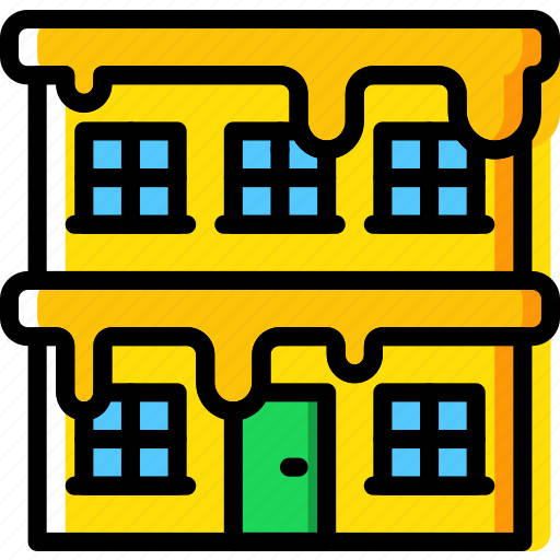 building, christmas, holiday, winter icon