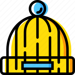 cap, christmas, holiday, winter icon