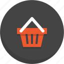basket, cart, shopping, shopping basket icon, shopping cart, trolly icon