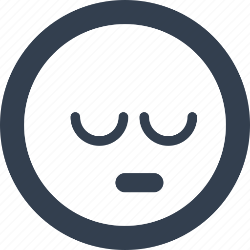 avatar, emoji, emoticons, emotion, sleeping, smile, smiley icon