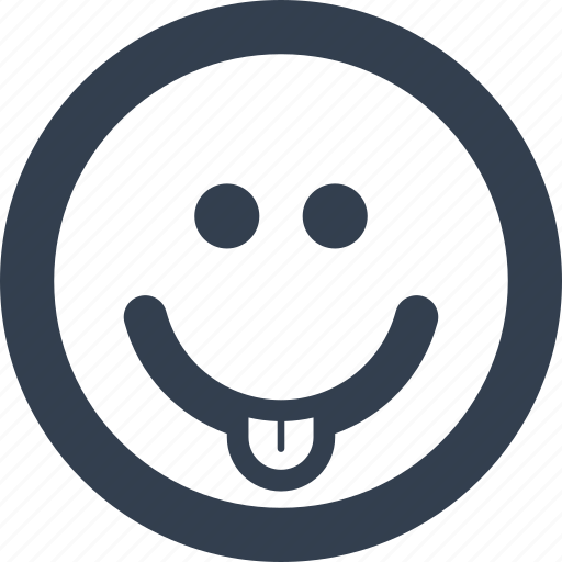 avatar, cheerful, cute, emoji, emoticon, emoticons, emotion, expression, face, fun, happiness, happy, humor, people, smile, smiley, smyle, tongue icon