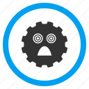 emoticon, afraid, nervous, shock, scared face, fear, panic icon