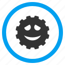 cheerful, funny, glad face, happy smile, joy, laugh, smiley icon