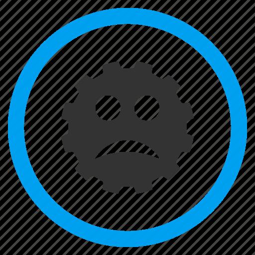 angry, bad, emoticon, emotion, problem, sad smile, smiley icon