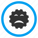 angry, bad emotion, emoticon, problem, sad smile, sadly, smiley icon