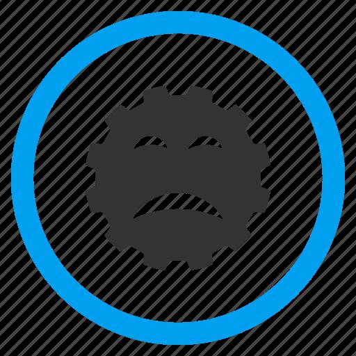 angry, bad emotion, emoticon, problem, sad smile, sadly, smiley icon